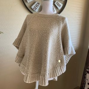 Michael Kors sweater poncho